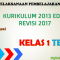 RPP Kurikulum 2013 Revisi 2017 Kelas 1 Tema 1 Terbaru