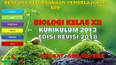 Download RPP Biologi Kelas XII K13 Revisi 2018