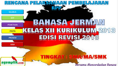 Download RPP Bahasa Jerman Kelas XII K13 Revisi 2018