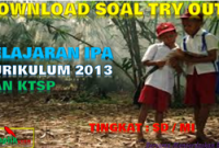 Soal Try Out USBN IPA