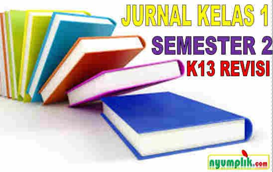 Jurnal Kelas 1 Semester 2