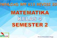 RPP MTK Kelas 4 Semester 2