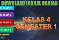 Jurnal K13 Kelas 4 Semester 1