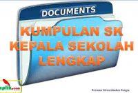 Kumpulan SK Kepala Sekolah
