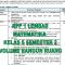 RPP 1 Lembar MTK Kelas 5 Semester 2 Volume Bangun Ruang