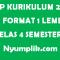 RPP Kurikulum 2013 PAI Format 1 Lembar Kelas 4 Semester Ganjil