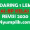 RPP PAI Daring Kelas 2 Format 1 Lembar